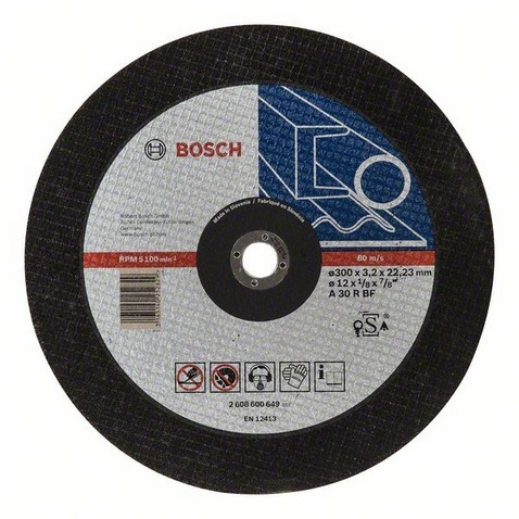 Диск отрезной Bosch Expert for Metal 2608600649