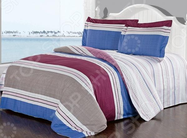 Комплект постельного белья Softline 09938. 2-спальный2-спальные<br>Комплект постельного белья Softline 09938 это незаменимый элемент вашей спальни. Человек треть своей жизни проводит в постели, и от ощущений, которые вы испытываете при прикосновении к простыням или наволочкам, многое зависит. Чтобы сон всегда был комфортным и безмятежным, а пробуждение лёгким и приятным, мы предлагаем вам этот качественный комплект постельного белья. Благодаря красивой расцветке и высококлассным материалам изготовления, атмосфера вашей спальни наполнится теплотой и уютом, а вы испытаете множество сладостных мгновений спокойного сна:  В качестве сырья для изготовления этого изделия использованы нити хлопка. Натуральное хлопковое волокно известно своей прочностью и легкостью в уходе. Волокна хлопка состоят из целлюлозы, которая отлично впитывает влагу. Хлопок дышит и согревает лучше, чем шелк и лен. Поэтому одежда из хлопка гарантирует владельцу непревзойденный комфорт, а постельное белье приятно на ощупь и способствует здоровому сну. Не забудем, что хлопок несъедобен для моли и не деформируется при стирке. За эти прекрасные качества он пользуется заслуженной популярностью у покупателей всего мира.  Изысканный шарм изделию придает сатиновое плетение. Сатин один из видов хлопковой ткани. Он имеет гладкую, шелковистую лицевую поверхность и вполне заслуженно пользуется большой популярностью у самых требовательных покупателей. Изделия из сатина долговечны и выдерживают большое число стирок. Кроме того, цена сатина ниже, чем у шелка, а качество ничуть не хуже: он такой же гладкий и приятный на ощупь. Сатиновые простыни и пододеяльники станут прекрасным дополнением вашей постели, украсят ее и сделают ваш сон крепким и сладким.<br>