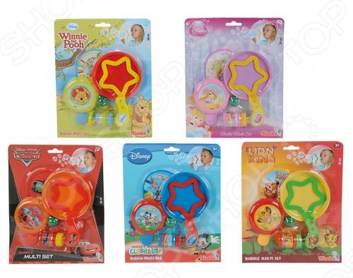 Мыльные пузыри Simba «Герои Диснея». В ассортименте