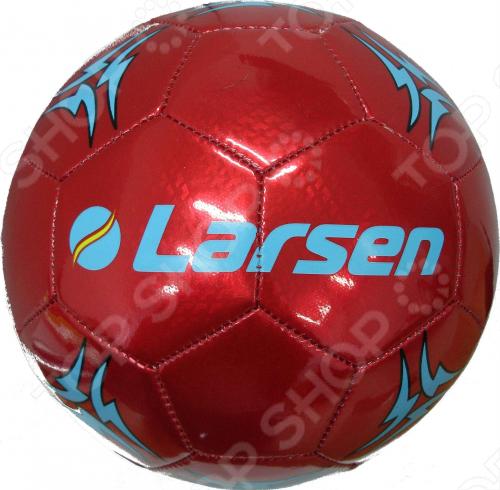 Мяч футбольный сувенирный Larsen FT2311A гантель для фитнеса s образная larsen nt169s