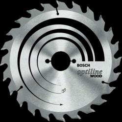 Диск отрезной для ручных циркулярных пил Bosch Optiline Wood 2608640622 диск отрезной для торцовочных пил bosch optiline wood 2608640432