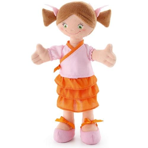 Кукла мягкая Trudi Девочка в кимоно мягкие игрушки trudi лайка маркус 34 см
