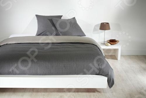 Фото Комплект постельного белья Dormeo Costume. 1-спальный. Цвет: серый