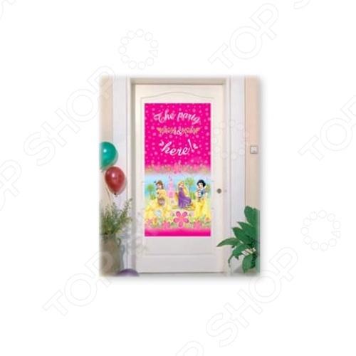 Баннер на дверь Procos «Принцессы Disney - летний замок»