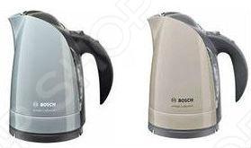 Чайник Bosch TWK60088Чайники электрические<br>Чайник Bosch TWK 60088 - бесшнуровой чайник со скрытым нагревательным элементом и центральным контактом, дно из нержавеющей стали. Чайник очень легко мыть, очищать внутреннюю поверхность, поскольку он выполнен в округлой форме с гладким ровным дном. Корпус прибора выполнен из прочного плотного пластика.<br>