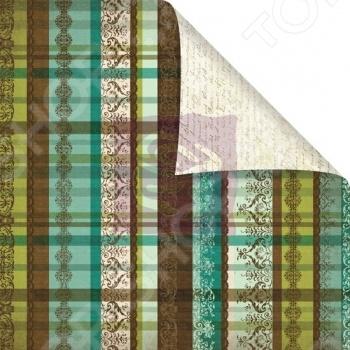 Бумага для скрапбукинга двусторонняя Prima Marketing Parfait бумага для скрапбукинга двусторонняя scrapberry s конфетти