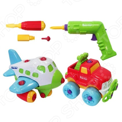 Игровой набор Keenway Самолет и джип