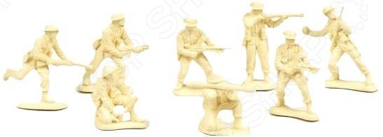 Набор солдатиков Биплант «Британские пехота»Игровые наборы для мальчиков<br>Набор солдатиков Биплант Британские пехота станет одной из самых любимых игрушек вашего малыша. Мало кто может представить себе детство без игры в стрелялки , войнушку и прочих военных забав. Любой мальчишка, с самых ранних лет мечтает получить в свое распоряжение и руководство хотя бы одного, а лучше несколько солдатиков, вместе с которыми он может завоевывать новые страны, спасать от врагов города и делать еще много полезного, хорошего и героического. Играя с фигурками солдатиков малыш развивает фантазию, мышление, воображение, а так же мелкую моторику рук. Подарите своему ребенку возможность почувствовать себя настоящим полководце и весело провести время за интересной игрой.<br>