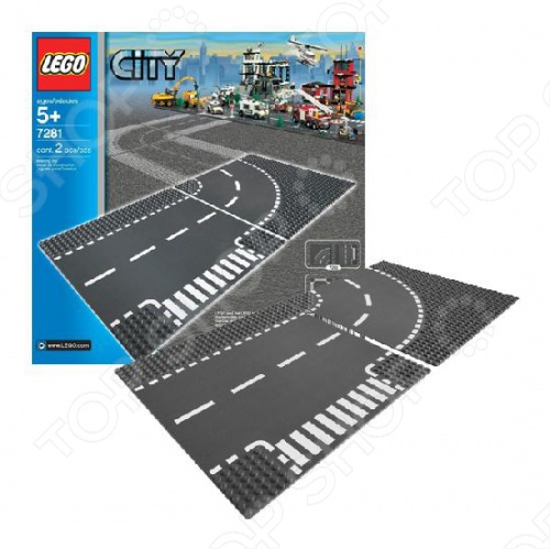 Конструктор LEGO Т-образная развязка это отличная поверхность для создания ваших legо-шедевров! На ней можно создать ваш уникальный проект с автомобилями, либо использовать в постройке города. Использование этой доски зависит только от вашей фантазии.
