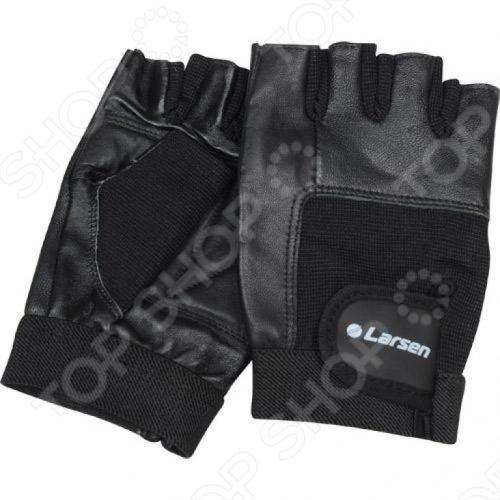 Larsen NT506 - это высококачественные перчатки для тяжелой атлетики и фитнесса. Они изготовлены из натуральной кожи. На ладони перчатки усилены дополнительной кожаной вставкой. Синтетическая вставка на тыльной стороне ладони. Удобная застежка stick для лучшей фиксации на руке.
