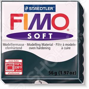 Глина полимерная Fimo Soft 8020 представляет собой пластичный материал, предназначенный для моделирования и лепки различных изделий: сувениров, украшений, кукол, зверюшек и т.д. Для придания изделиям из глины прочности и твердости их необходимо запекать в духовке в течение 20-30 минут при температуре 110 C. Отлично подходит для детского творчества.