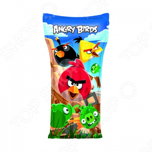 Матрас надувной детский Angry Birds 96104B