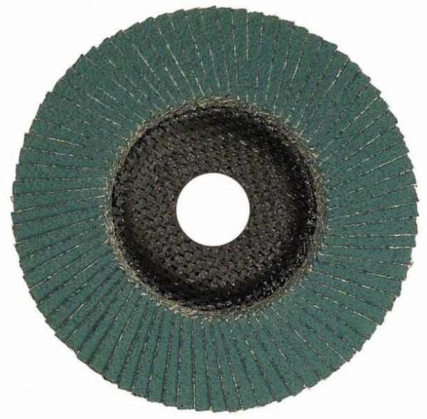 Диск лепестковый для угловых шлифмашин Bosch Best for Inox 2608608269Насадки для шлифования, полировки, чистки<br>Круг лепестковый для угловых шлифмашин Bosch Best for Inox 2608608269 представляет собой отличный инструмент, с помощью которого вам удастся выполнить все необходимые работы качественно и в срок. Изготовленные из прочного материала круг имеет специальное строение и структуру, позволяющие применять его совместно с болгарками при обработке разнообразных металлических поверхностей, при удалении ржавчины окалины, полировке и шлифовании. Высокое качество материалов изготовления обеспечивает долговременную и эффективную эксплуатацию, что, несомненно, придется по душе настоящему мастеру.<br>