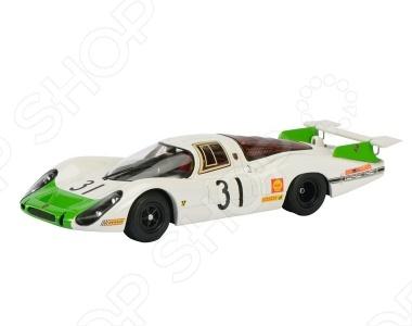 Модель автомобиля 1:43 Schuco Porsche 908LH № 31 LeMansМодели авто<br>Модель автомобиля 1:43 Schuco Porsche 908LH 31 LeMans это коллекционная модель, которая является копией настоящего автомобиля. Она изготовлена из металла с элементами пластика. У машинки открываются двери, двигаются колеса. Машинка является отличным подарком не только ребенку, но и коллекционеру. Однако, во время игры с такой машинкой у ребенка развивается мелкая моторика рук, фантазия и воображение.<br>