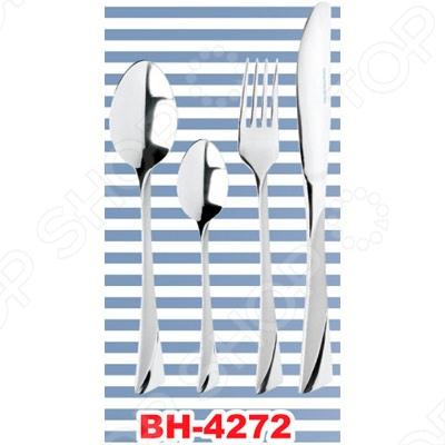 Набор столовых приборов Bohmann 4272 новый диск набор столовых приборов для малышей вилка ложка принцессы дисней