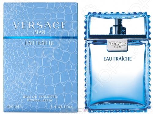 Туалетная вода для мужчин Versace Eau Fraiche туалетная вода versace man eau fraiche объем 30 мл вес 80 00