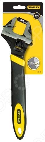 Ключ разводной STANLEY MaxSteel предназначен для ремонта и демонтажа гаечных соединений. Для точности выполняемых работ предусмотрена разметка на губках ключа. Данный инструмент изготовлен из высокопрочной хромованадиевой стали методом ковки. Фосфатированная поверхность устойчива к образованию коррозии, что продлевает срок службы инструмента.