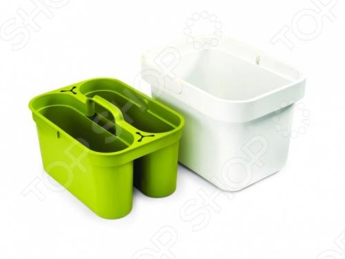 Контейнер хозяйственный Joseph Joseph Clean Store станет отличным дополнением к набору ваших бытовых принадлежностей. Изделие весьма практично и функционально, пригодится для хранения различных аксессуаров, моющих средств, губок, тряпок и т.д. Контейнер выполнен из высококачественных ударопрочных материалов, снабжен съемным боксом для удобного мытья и эргономичной рукояткой для переноски. Модель представлена в двух цветовых решениях.