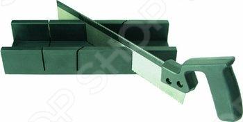 Товар продается в ассортименте. Цвет изделия при комплектации заказа зависит от наличия товарного ассортимента на складе. Пластмассовое стусло с пилой 300х65 мм FIT используются для удобства и точности распиливания различных деталей или заготовок под необходимым углом. Такой комплект столярных инструментов прослужит долгое время даже при постоянных нагрузках, так как для их изготовления использовались прочные и качественные материалы.