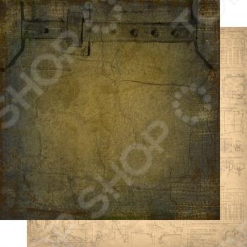фото Бумага для скрапбукинга двусторонняя Елена Виноградова EV-KbEx003-004, купить, цена