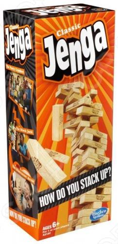 Настольная игра Hasbro Дженга arsstar настольная игра дженга фанты сосенка малая