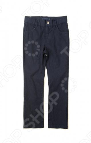 Брюки Appaman Skinny twill pants. Цвет: синий