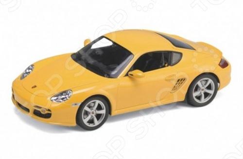 Модель машины 1:24 Welly Porsche Cayman S. В ассортиментеМодели авто<br>Модель машины 1:24 Welly Porsche Cayman S это коллекционная модель, которая является копией настоящего автомобиля. Она изготовлена из металла с элементами пластика. У машинки открываются двери, двигаются колеса. Машинка является отличным подарком не только ребенку, но и коллекционеру. Однако, во время игры с такой машинкой у ребенка развивается мелкая моторика рук, фантазия и воображение.<br>