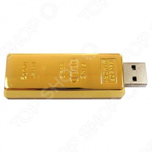 фото USB флешкарта Baolifeng BLF-MC 001 «Золотой слиток», Флешки
