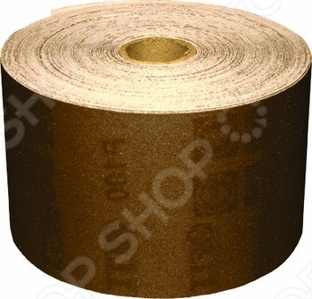 Бумага наждачная для дерева и металла на тканевой основе FIT Профи