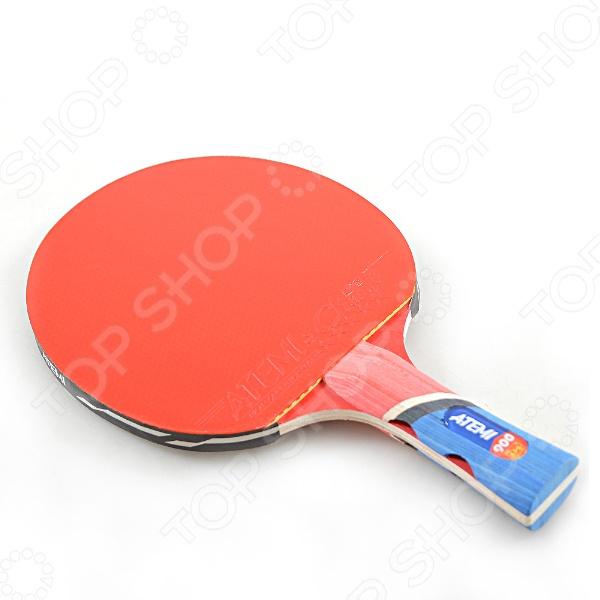Ракетка для настольного тенниса Atemi 900 CV набор для настольного тенниса ракетка 2шт мяч 3шт сетка torneo ti bs301