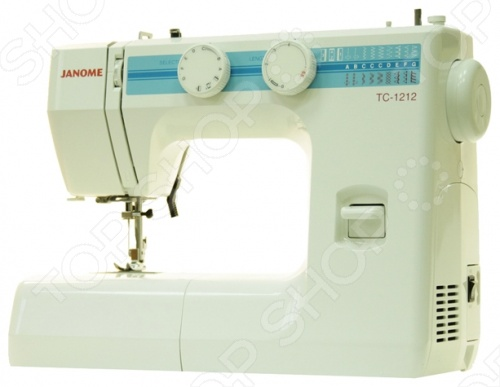 Швейная машина Janome TC 1212 швейная машина janome tc 1216s белый tc 1216s