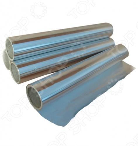 Фольга алюминиевая для термоизоляции Банные штучки тепло- и пароотражающий барьер, способный выдерживать даже самые высокие температуры и успешно противостоять огню. Применение алюминиевой фольги при сооружении, например, бани или сауны дает гарантию того, что тепловое излучение внутри помещения будет полностью сохранено. Толщина фольги 50 мкм 1,2х20 м, 24 м.кв. .