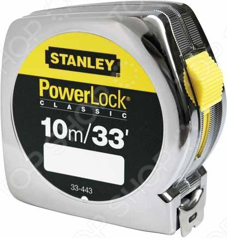 Рулетка Stanley Powerlock 0-33-443 stanley powerlock 5m 0 33 194 рулетка silver