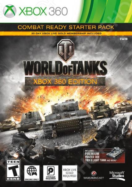 фото Игра для Xbox 360 Microsoft World of Tanks (rus), Игры для игровых консолей