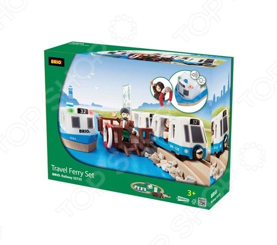 Набор игровой с паромом и поездом Brio 33725