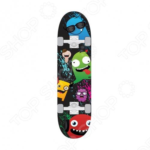 Скейтборд Larsen MS-2 скейтборд балансирующий larsen wave board черный голубой