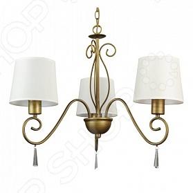 Люстра подвесная Arte Lamp Carolina A9239LM-3BR поможет создать желаемую атмосферу в помещении. Она рассчитана на 3 лампочки мощностью 40 Вт, которые легко осветят пространство до 11 кв.м. Изящно изогнутый коричневый каркас украшен подвесками. Он поддерживает белые текстильные плафоны. Люстра сделана в классическом стиле, она подойдет для любого стиля в интерьере. Вы можете подарить эту люстру друзьям или родственникам, ведь всегда приятно внести что-то новое в дизайн своего дома. Для люстры подойдут лампы с цоколем E27.
