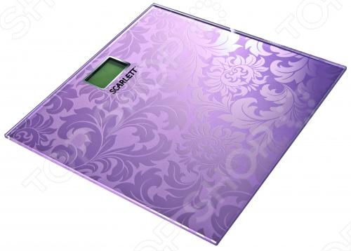 Весы напольные Scarlett SC-217 весы scarlett sc bs33e064