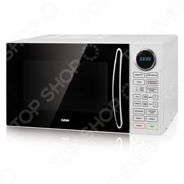 Микроволновая печь BBK 23MWG-930S/BW цена и фото