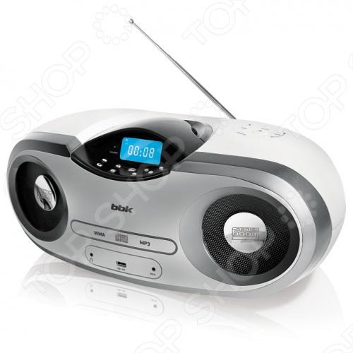 Магнитола BBK BX517U незаменимый атрибут любого пикника, дачных посиделок или модных вечеринок в стиле хип-хоп. За счет применения в модели современной технологии Sonic Boom единого эталона звука для всей аудиотехники BBK удалось добиться уникального мощного и реалистичного звучания, а технология X-BASS отвечает за глубокие и насыщенные басы.овременная технология Sonic Boom единый эталон звука аудиотехники BBK. Модель проигрывает музыку CD-R, CD-RW, WMA и MP3-формата с дисков и USB-носителей. Воспроизведение треков может осуществляться в запрограммированном или произвольном порядке с помощью функций P-Mode или RANDOM. Кроме того, BBK BX517U оснащен USB-портом, AUX IN-входом для подключения внешних аудиоисточников и выходом для наушников. Цифровой FM AM-тюнера PLL для приема эфирных радиостанций, который имеет электронное управление и возможность отображения выбранных радиочастот на дисплее. Помимо этого, в комплект входит пульт ДУ. и сетевой кабель. Гарантия: 12 месяцев.
