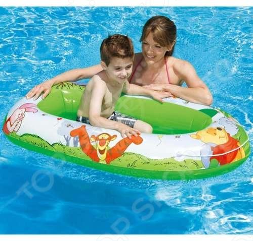 Лодка надувная детская Intex «Винни Пух» 58394 лодка intex challenger 1 68365