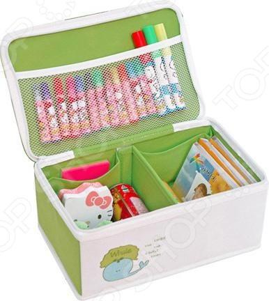 Коробка для хранения Hausmann BB211-3Коробки. Ящики. Подставки<br>Коробка для хранения Hausmann BB211-3 - поможет приучить вашего малыша к порядку на рабочем столе. В этой красочной коробке удобно хранить предметы для творчества: карандаши, фломастеры, наклейки, блокноты, ручки, клей и многое другое. Теперь все необходимое будет собрано в одном месте и ребенку не придется тратить время на поиски тех или иных канцелярских принадлежностей. Коробка легко чиститься при помощи влажной ткани.<br>