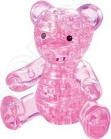 Кристальный пазл 3D Crystal Puzzle «Мишка розовый» пазлы crystal puzzle головоломка лев