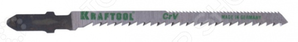 Пилки для электролобзика Kraftool 159514-2,5 пилки для лобзика по ламинату для прямых пропилов практика t101aif 3 30 мм 2 шт