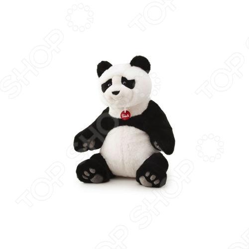 Мягкая игрушка Trudi Панда Кевин сидящий