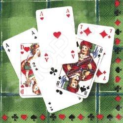 Салфетки бумажные для декупажа IHR Время для игры станут прекрасным материалов для выполнения творческой работы. Салфетки трехслойные и очень удобны в процессе работы. В упаковке идет 20 штучек. Размер каждой салфетки - 33 33 см. Декупаж является своего рода аппликацией, которая изготавливается с использованием декупажных карт, бумаги, салфеток, иногда ткани, которая в итоге может быть размещена на дереве, стекле, посуде, мебели и многих других поверхностях с многослойным покрытием лаком.