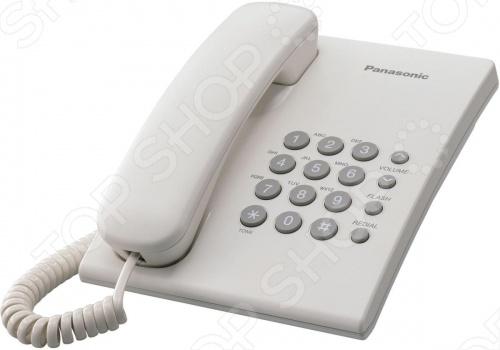 Телефон Panasonic KX TS 2350 RU телефон проводной panasonic kx ts2570 ru