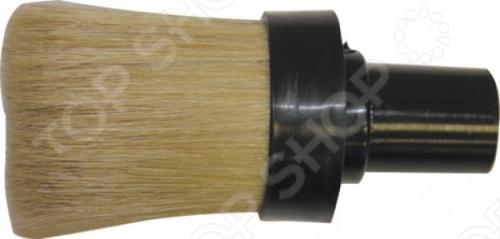 Кисть круглая маховая из натурального волоса предназначена для грунтовки и побелки, покраски вододисперсионными красками, нанесения клея на обои. Натуральная щетина, пластиковый корпус.