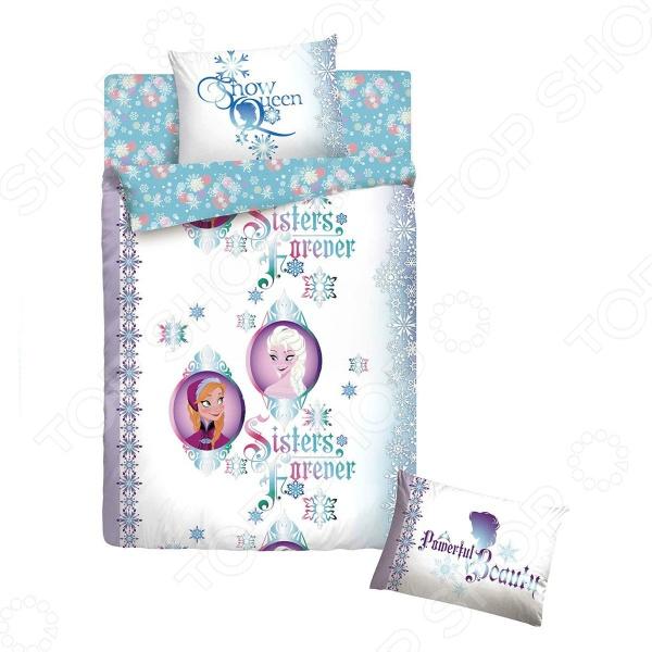фото Комплект постельного белья Disney «Холодное сердце», Детские комплекты постельного белья