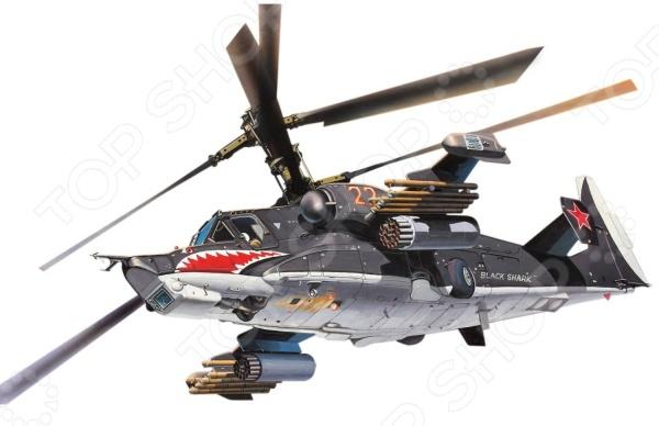 Сборная модель вертолета Revell Ка-50 «Черная Акула»